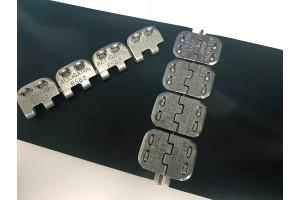 Механический метод стыковки конвейерных лент